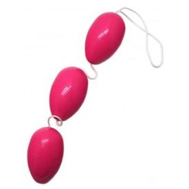 Розовые анально-вагинальные шарики