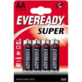 Батарейки EVEREADY SUPER R6 типа AA - 4 шт.